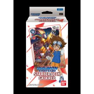Digimon Card Game Gaia Red Starter Deck legion cards
