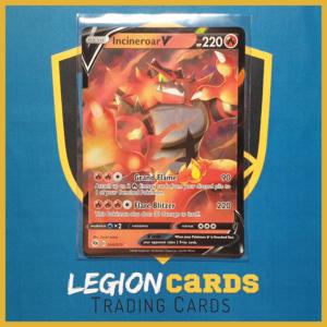 Incineroar V 008-073 Pokemon Champion's Path front