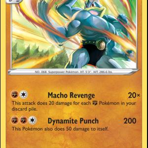 Machamp 026-073 - Champion's Path - Holo Rare