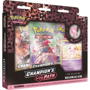 Pokemon Champion's Path Pin Collection Ballonlea Gym