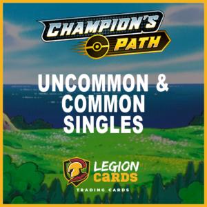 Pokemon Champion's Path Uncommon & Common Singles Legion Cards