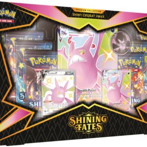 Pokemon Shining Fates Crobat VMAX Box
