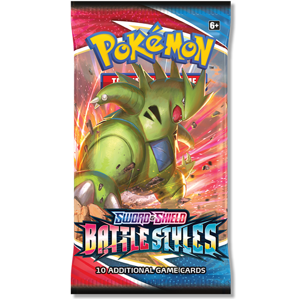 Pokemon Sword and Shield Battle Styles Booster pack tyranitar Legion Cards