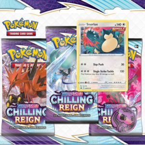 SS6 Chilling Reign 3-Booster Blister Snolax