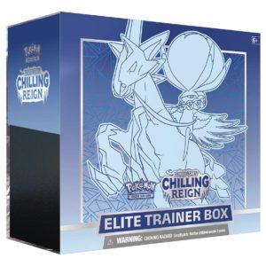 pokemon SS6 Chilling Reign Ice Rider Calyrex Elite Trainer Box