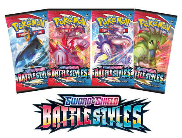 pokemon sword and shield battle styles booster packs